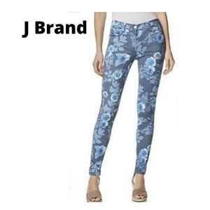 New J. Brand 835 Mid Rise Crop Skinny Jeans SZ 29